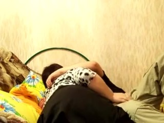 Russian mature mother and her boy dilettant