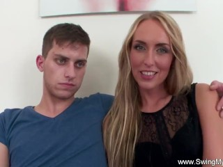 Couple Try Swinging and Cuckold