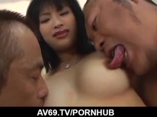 high rated threesome hardcore along Mio Kanna