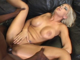 Trina takes Dreadlock mans cock in her ass
