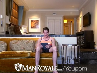 ManRoyale At home boredom turns into hot fucking