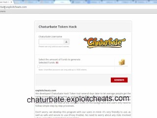 Chaturbate Online Token Generator and Adder