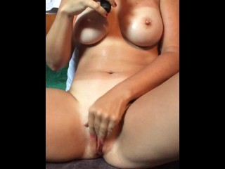 Hot amateur wife masturbating