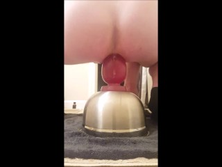 DESTROYING ASS WITH 4.25 INCH WIDE PLUG