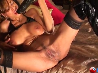 Monster cock fucking and squirting