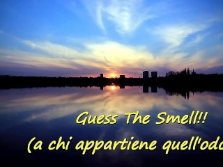 Guess The Smell (ItalFetish… only real stinky feet)