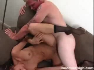 Busty Tiffany gets her tight hole rammed by her coach