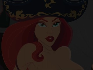 MISS FORTUNE'S BOOTY TRAP ANAL  Animated by TheLustyLizard