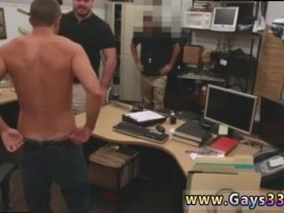 Old straight men naked cocks gay first time Guy finishes up with assfuck
