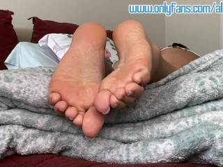 My Dry Soles Need CUM Lotion!!! ***Teaser***
