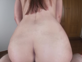 Impossible resist her max speed to fuck in Reverse and cum inside so fast !