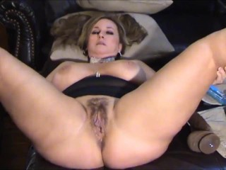 Busty MILF cheating on her hubby