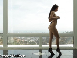 HardX Lana Rhoades Tease and Hot Fucking