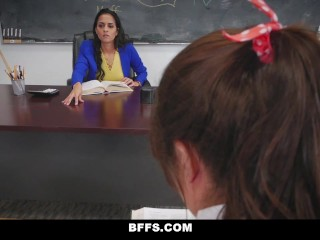 BFFS – Brazlian Teacher Fucked and Rough Play By Students