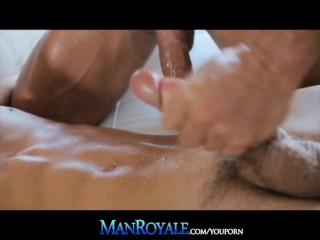 ManRoyale Taking A Thick Dick With Hands Tied