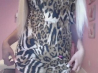Amazing blonde masturbates and plays with dildo on webcam – Hostelcams com.mp4