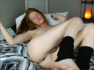 Ginger Teen Tranny Solo