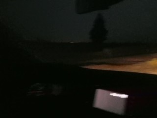 On A Dark Desert Highway… Pulled Off To Fuck