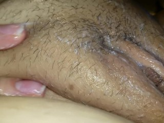 Shaving Her Clit So It's Silky Smooth For My Tongue