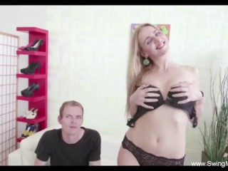 Fun Times With Horny Swinger Couple Just to Arouse