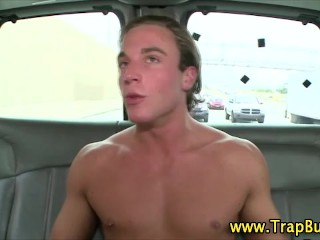 Straight guy mislead gay bj