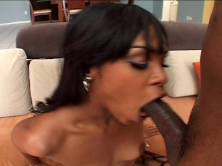 Ebony girl makes her man happy  Part 3/4