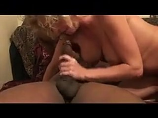 Wife with big tits fucks bbc in front of husband