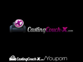 CastingCouch X Skinny blonde Jasmine Riley fucked by casting agent
