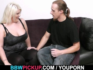Hot sex with blonde chubby gf