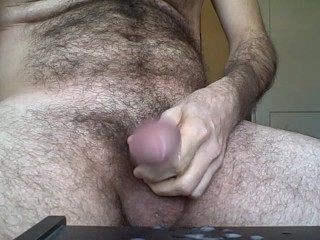 jerking off right in your face!