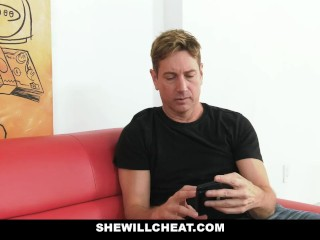 SheWillCheat – Cheating Wife Fucked By Black Masseur