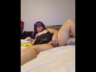 Made My 1st Selfie Masturbation Video For Hubby While He's At Work