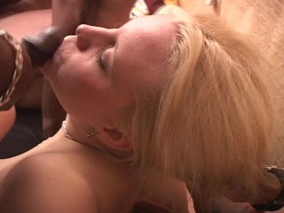 She's loving all this black cock – OPD Production