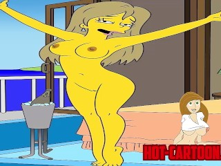 Cartoon Porn Simpsons porn privat sex tape