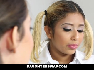 DaughterSwap – Naughty School Girls Fucked By Old Dads
