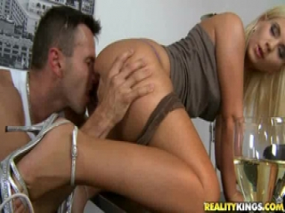 Stunning duo having a euro sex party