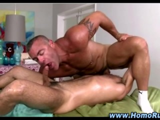 Gay straight massage blowjob sixtynine seduction
