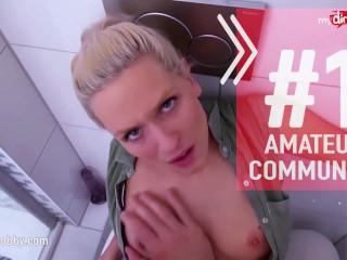 MyDirtyHobby – Real amateur German housewife bareback fuck
