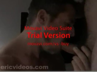 Blowjob For straight hairy Guy 1