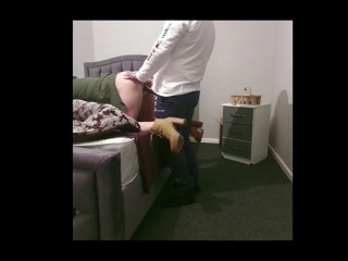 Step mom the greatest anal and pussy Doggystyle and near window with step son