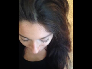 Amateur First Blow Job on Camera