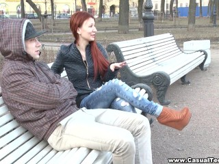 Casual Teen Sex – Pleasure with a redhead