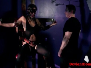 Abella Danger Gets Her Latino Cunt Smashed In Hardcore BDSM Session