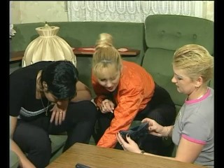 Three lesbians all dolled up – Julia Reaves