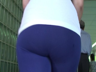 spanish milf ass in tights