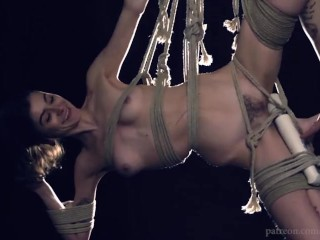 Jasper Blue Tied Up and Made to Cum HD