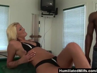 HumiliatedMilfs – Stacy Thorn Can t Wait For Thick Black Cock