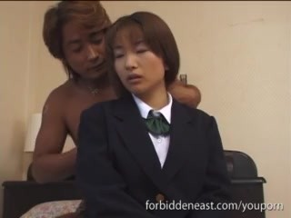 Japanese Teen Couple In Softcore Asian Action