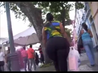 Enormous Huge fat ass In Tights!