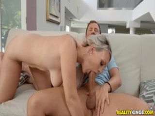 Sexy Sunny Hart riding on top